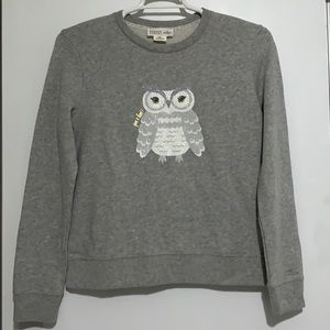 Kate Spade Broome Street Owl Sweatshirt.